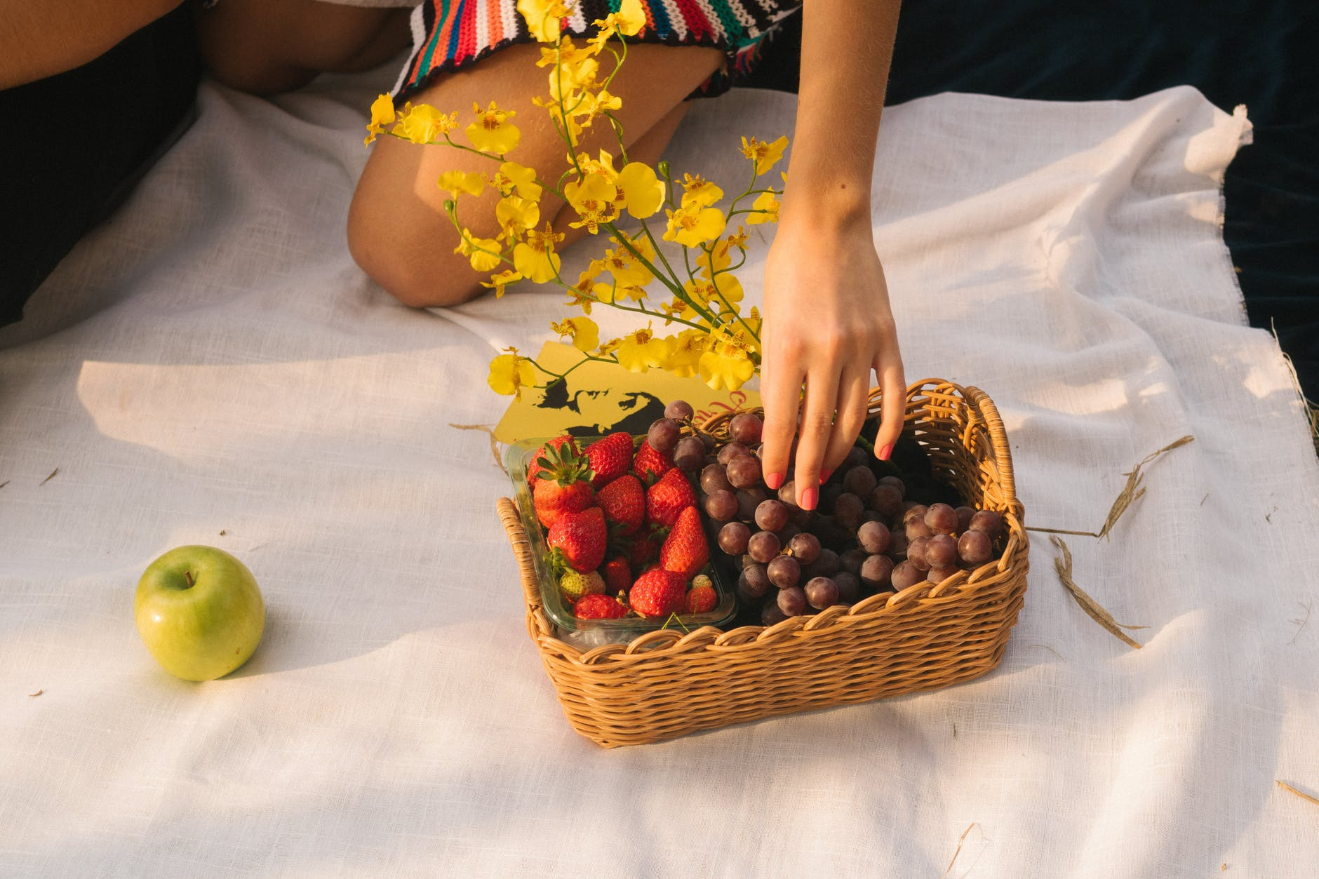 photo of fruits in basket